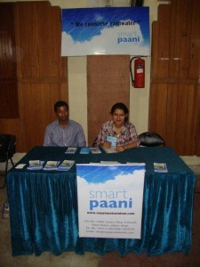 SmartPaani Booth at NBI